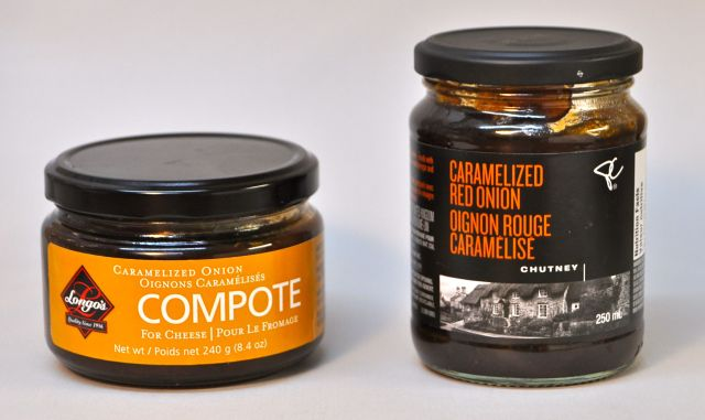 Caramelized Onion - Longo's Compote vs Loblaw's Chutney