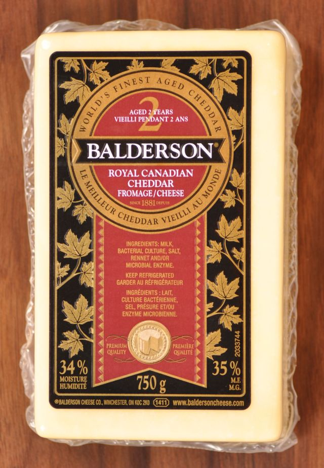 Balderson Royal Canadian Cheddar - Aged 2 Years