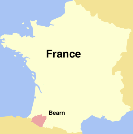 Viscounty of Béarn, France