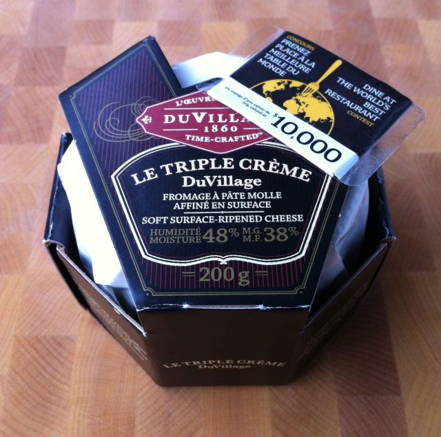 DuVillage Triple Creme Cheese